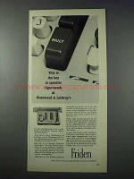 1963 Friden Calculator Ad - Key to Speedier Figurework