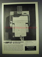 1963 Recordak Portable Microfilmer Ad - Copy It
