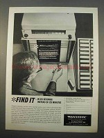 1963 Recordak Lodestar Reader Printer of Microfilm Ad