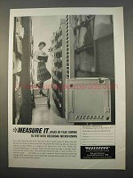 1963 Recordak Microfilming Ad - Measure It