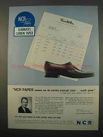 1963 NCR Paper Ad - Saves Us Its Entire Annual Cost