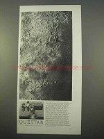 1963 Questar Telescope Ad - Picture of the Moon