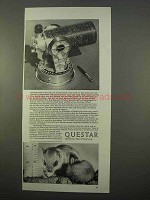 1963 Questar Telescope Ad - Most Sales To Individuals