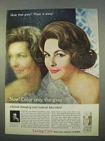 1963 Clairol Loving Care Hair Color Lotion Ad