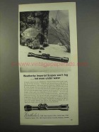1963 Weatherby Imperial Scope Ad - Won't Fog