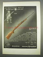 1963 FI Fabrique National Musketeer II Rifle Ad