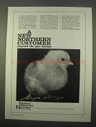 1963 Northern Natural Gas Company Ad - Customer