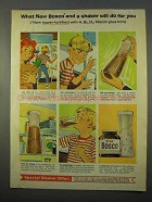 1963 Bosco Drink Ad - What A Shaker Will Do For You