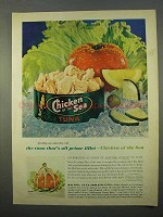 1963 Chicken of the Sea Tuna Ad - All Prime Fillet