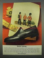 1963 Johnston & Murphy Booton Wing Shoe Ad