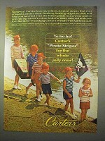 1963 Carter's Pirate Stripes Shirts and Shorts Ad