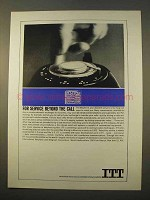 1963 ITT Communications Ad - Service Beyond the Call