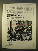 1963 Northern Natural Gas Company Ad - Major Markets