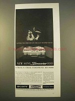 1963 Sony Sterecorder 300 Ad - Stength and Delicacy