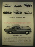 1963 Volvo P1800 Car Ad - What's it Like To Own?