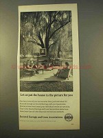 1963 Insured Savings and Loan Associations Ad - House