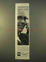 1963 Commerce Trust Company Ad - A Call To