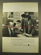 1963 Bankers Trust Company Ad - Five-Letter Word For