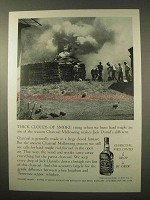 1963 Jack Daniel's Whiskey Ad - Thick Clouds of Smoke