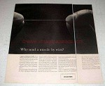 1963 Hughes Aircraft Ad - Why Send a Missile by Wire?