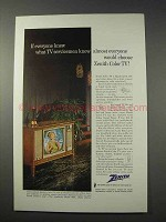 1963 Zenith Lombardi Model 6051 TV Ad - Servicemen