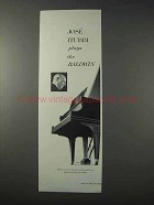 1963 Baldwin Piano Ad - Jose Iturbi Plays