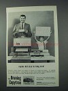 1963 Bruning Copytron Copier Ad - Kid Size to King Size