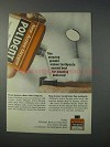 1963 Polident Denture Cleaner Ad - Amazing Powder