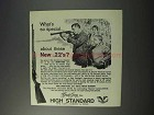1963 High Standard Sport-King Rifle Ad - What's Special