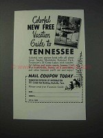 1963 Tennessee Tourism Ad - Vacation Guide