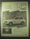 1959 Silver Fox Stainless Steels Ad - Parts Look New