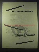 1959 Standard Triumph Car Ad - Lusty Independence
