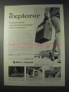 1959 Bell & Howell Explorer Slide Projector Advertisement