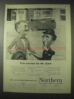 1959 Northern Assurance Company Limited Ad - Mr. Care