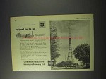 1959 London and Lancashire Insurance Ad - BBC Tower