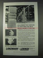 1959 Lennox Landmark Air Conditioning Ad - Year-Round