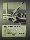 1959 Du Pont Nylon Ad - Extra Blowout Protection