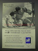 1959 All Detergent Ad - All Your Clothes Wash Freer