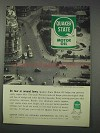 1959 Quaker State Motor Oil Ad - On Tour Around Town