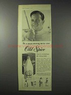 1958 Old Spice After Shave Lotion Ad - Be a Man