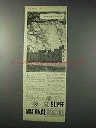 1958 Super National Benzole Petrol Ad - Heritage