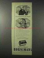 1958 Hornimans Tea Ad - You Look Pleased, Mr. Punch