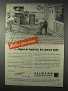 1958 Clinton Welded Wire Fabric Ad - Before You Pour