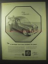 1958 MG Magnette Car Ad - Brings Out The Expert