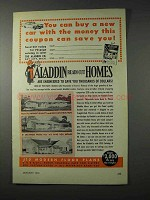 1958 Aladdin Readi-Cut Homes Ad - This Can Save You