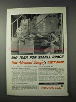 1958 Delta Deltashop Tool Ad - Big Idea for Small Space