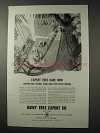 1958 Davey Tree Expert Company Ad - Expert Care Now