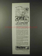 1958 Wheel-Horse Tractor Ad - Get More Done Have Fun