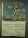 1958 John Hancock Insurance Ad - Christy Mathewson