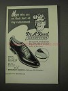 1958 Dr. A. Reed Style 90 Shoe Ad - Recommend